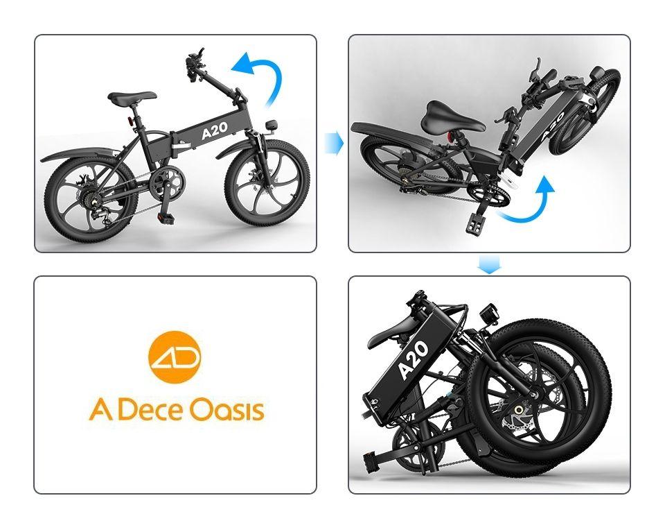 ADO A20 - Vélo étapes de pliage