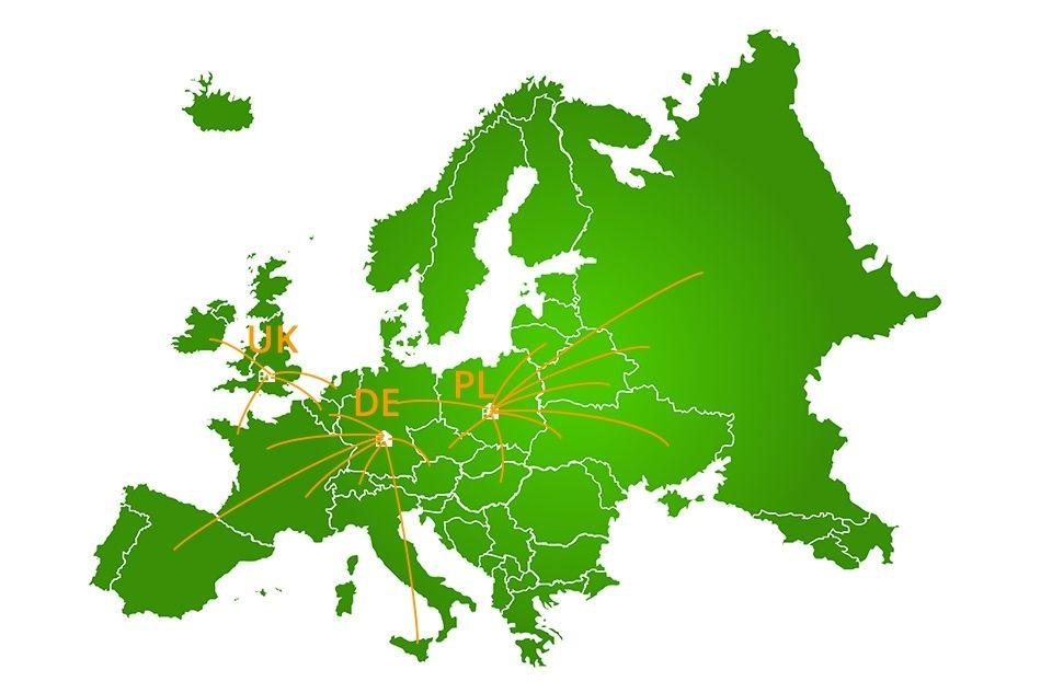 ADO A20 - Vélo points de vente Europe