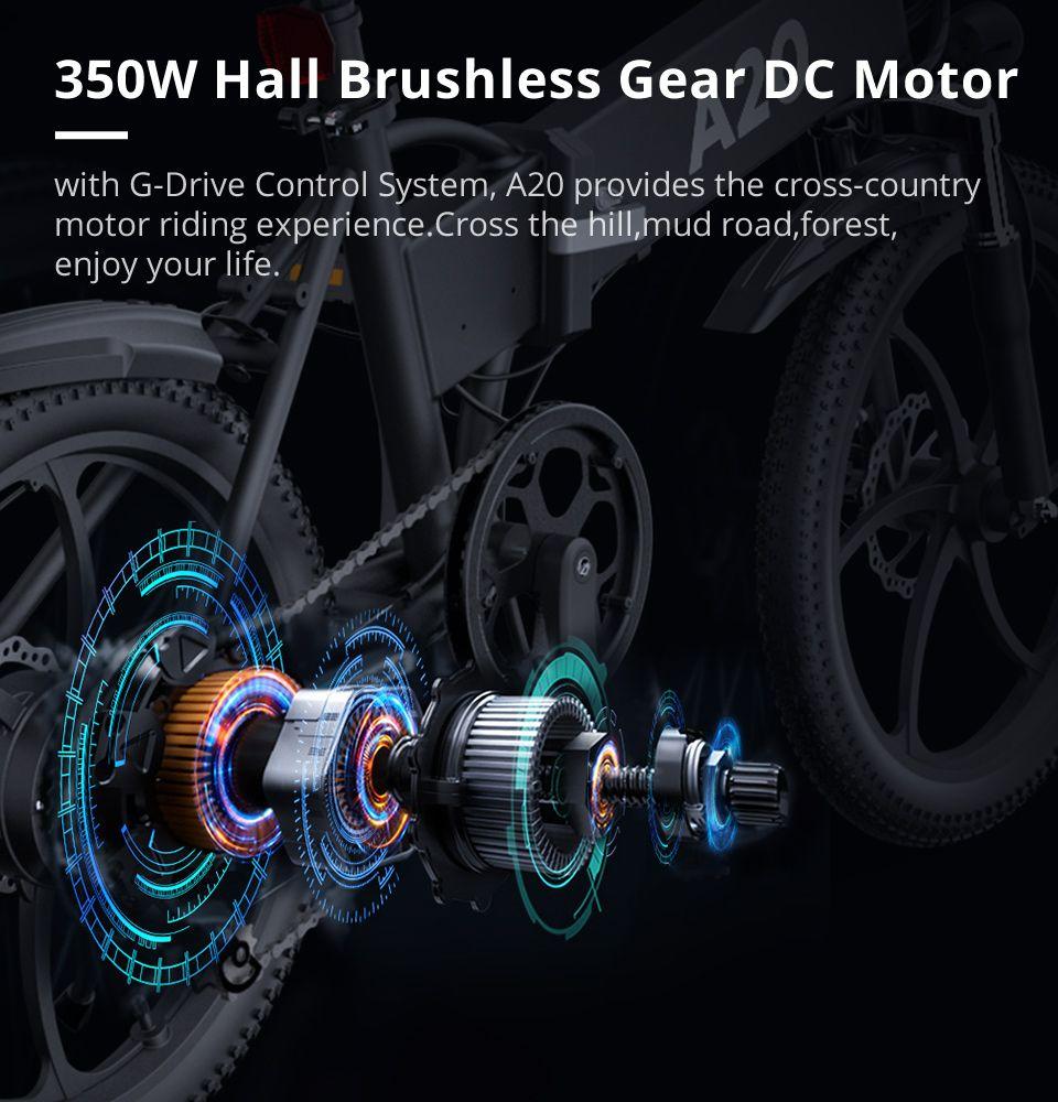 ADO A20 - Vélo technologie moteur 350W
