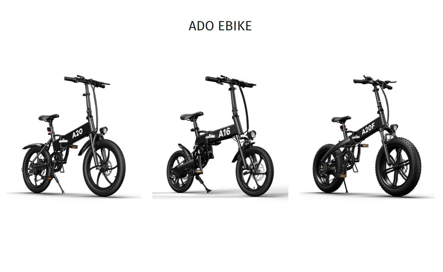 ADO A20 - Vélos A16-A20-A20F