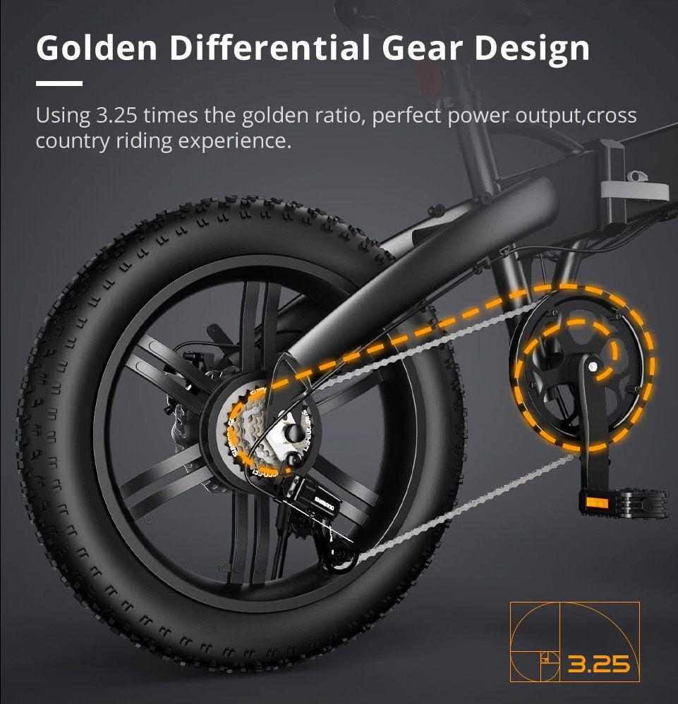 ADO A20F - Vélo ratio de transmission