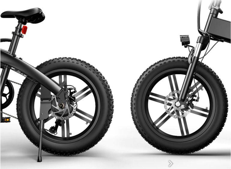 ADO A20F - Vélo roue avant et arrière