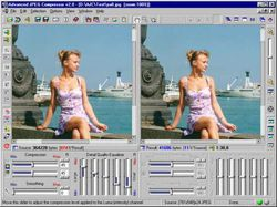 Advanced JPEG Compressor screen 1