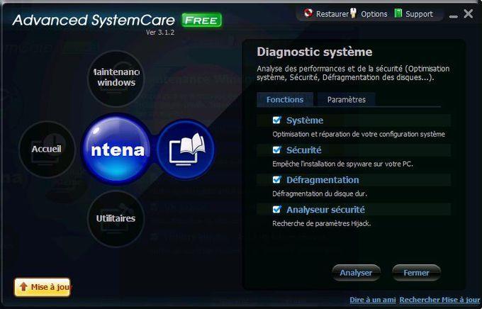 Advanced SystemCare Diagnostic