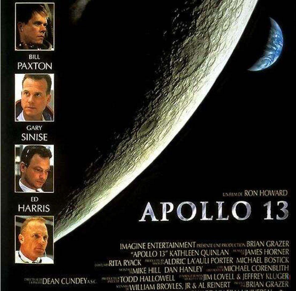 Affiche Du Film Apollo 13 De Ron Howard