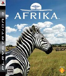 afrika ps3 jaquette