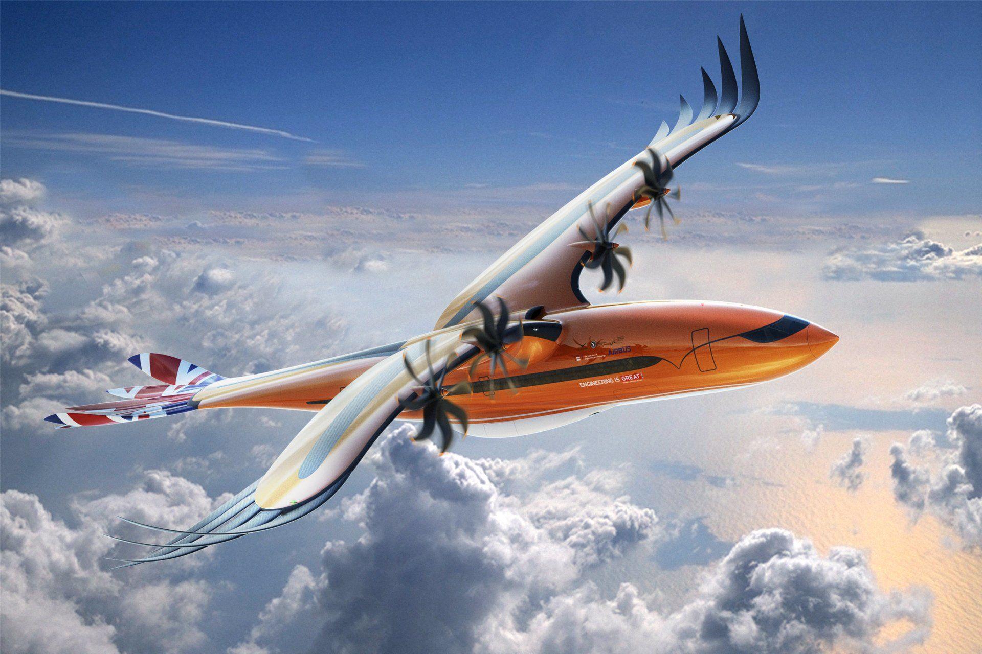 Airbus: un concept d'avion de ligne inspiré de l'oiseau de proie