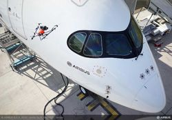 Airbus drone inspection
