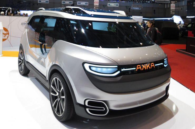 AKKA : un véhicule autonome, électrique et français.