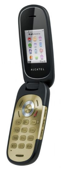 Alcatel OT-660 bronze