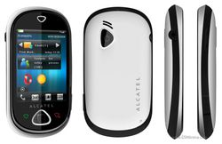 Alcatel OT-909 One Touch MAX blanc noir