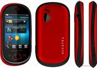 Alcatel OT-909 One Touch MAX rouge noir