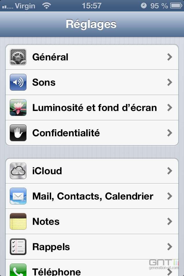 Alerte flash iPhone 1