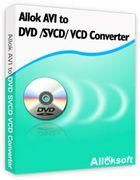 Allok AVI to DVD SVCD VCD Converter : un convertisseur de vidéos vers le format DVD