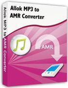 Allok MP3 to AMR Converter : convertir vos fichiers MP3 en format AMR