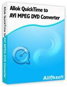 Allok QuickTime to AVI MPEG DVD Converter : encoder des vidéos QuickTime en quelques instants