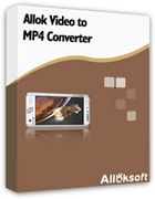 Allok Video to MP4 Converter : convertir des vidéos dans le format MP4