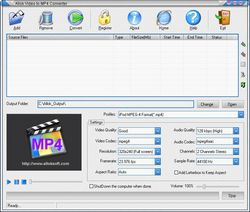 Allok Video to MP4 Converter screen