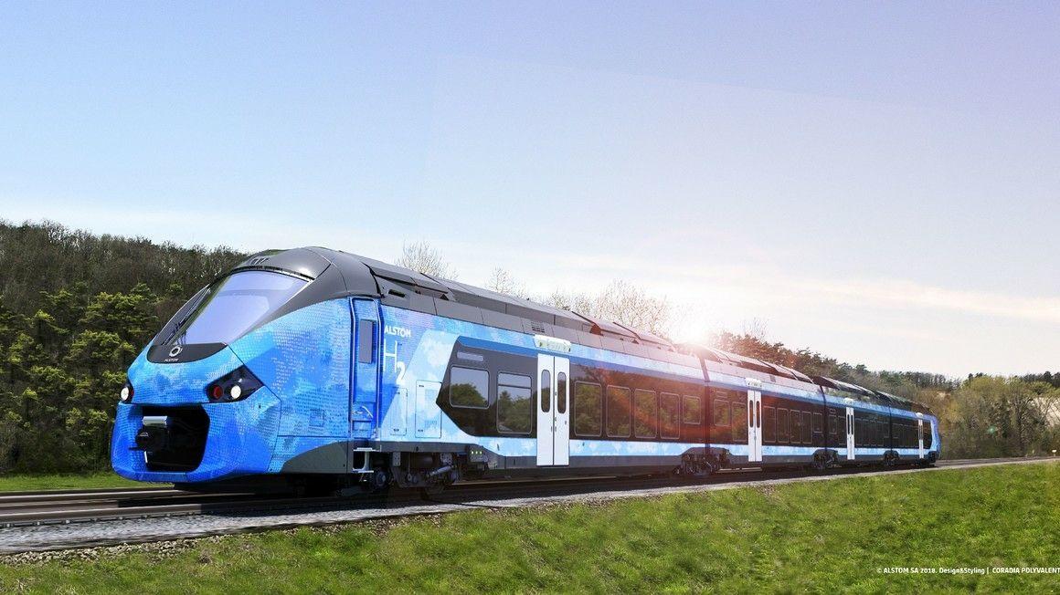 Alstom train hydrogène