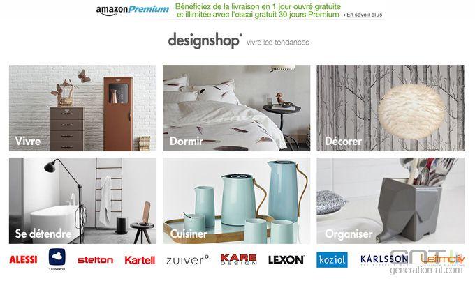 amazon design shop