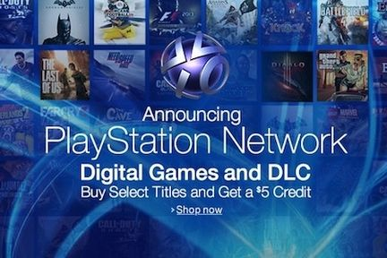 Amazon PlayStation Network Store