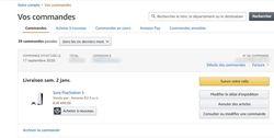 Amazon PS5 janvier