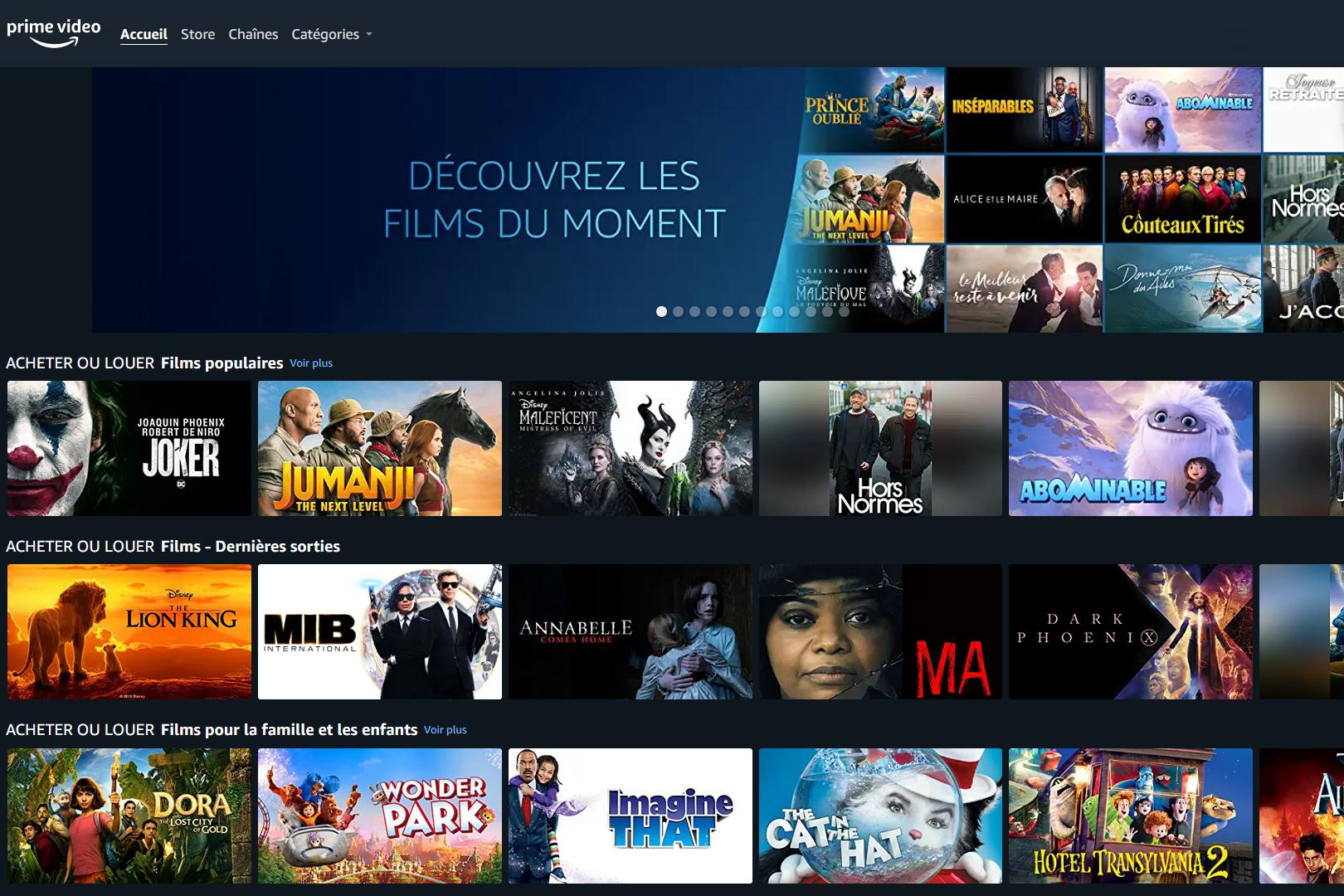Amazon prépare des chaînes TV en direct pour son service Prime Video