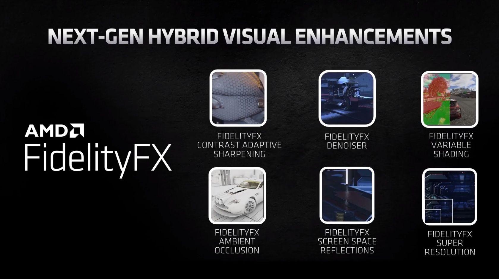 AMD FidelityFX Super Resolution : l'alternative au DLSS de Nvidia pour le mois de juin ?
