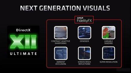 AMD Radeon RX 6000 DirectX 12 Ultimate