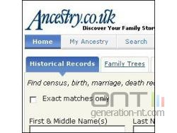 Ancestry co uk frontpage small