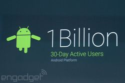 Android 1 milliard activations