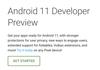 Android 11 : Google parle déjà des nouveautés sur son site
