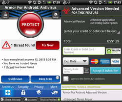 android faux antivirus