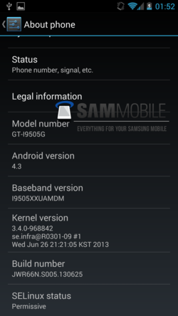 Android Galaxy S4 Google Edition 01