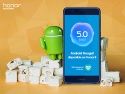 Android Nougat Honor 8
