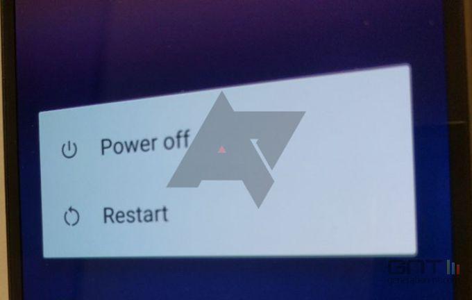 Android Nougat restart