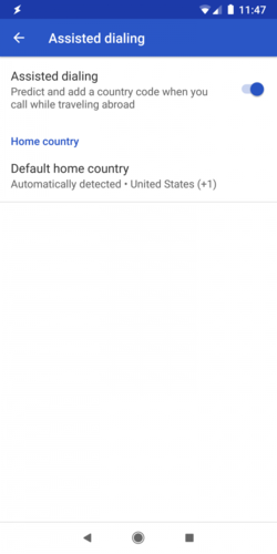 Android Q Assisted Dial 01