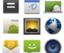 Android Style Icons R1 un pack d'icônes sur le thème d'Android