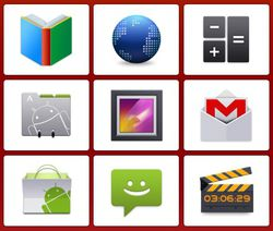 Android Style Icons screen1