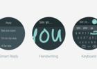 Android Wear 2 saisie