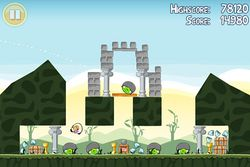 Angry Birds screen1