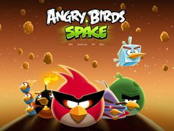 Angry Birds Space - artwork