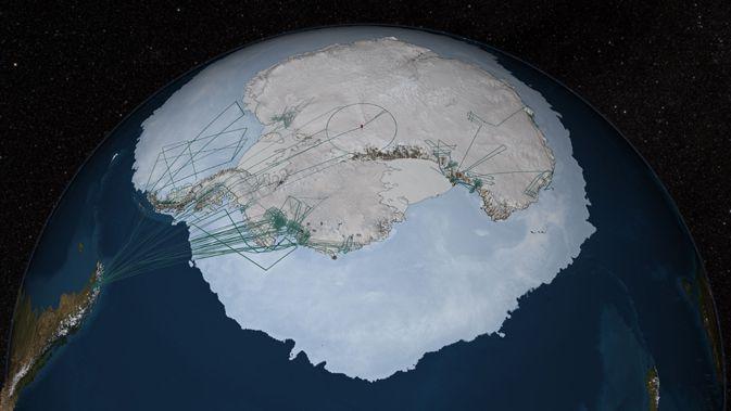 Antarctique : une fuite de méthane sous-marine inquiète les scientifiques
