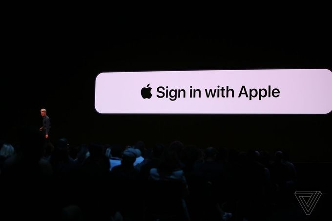Aple iOS 13 sign in
