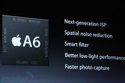 Apple A6 optimisations