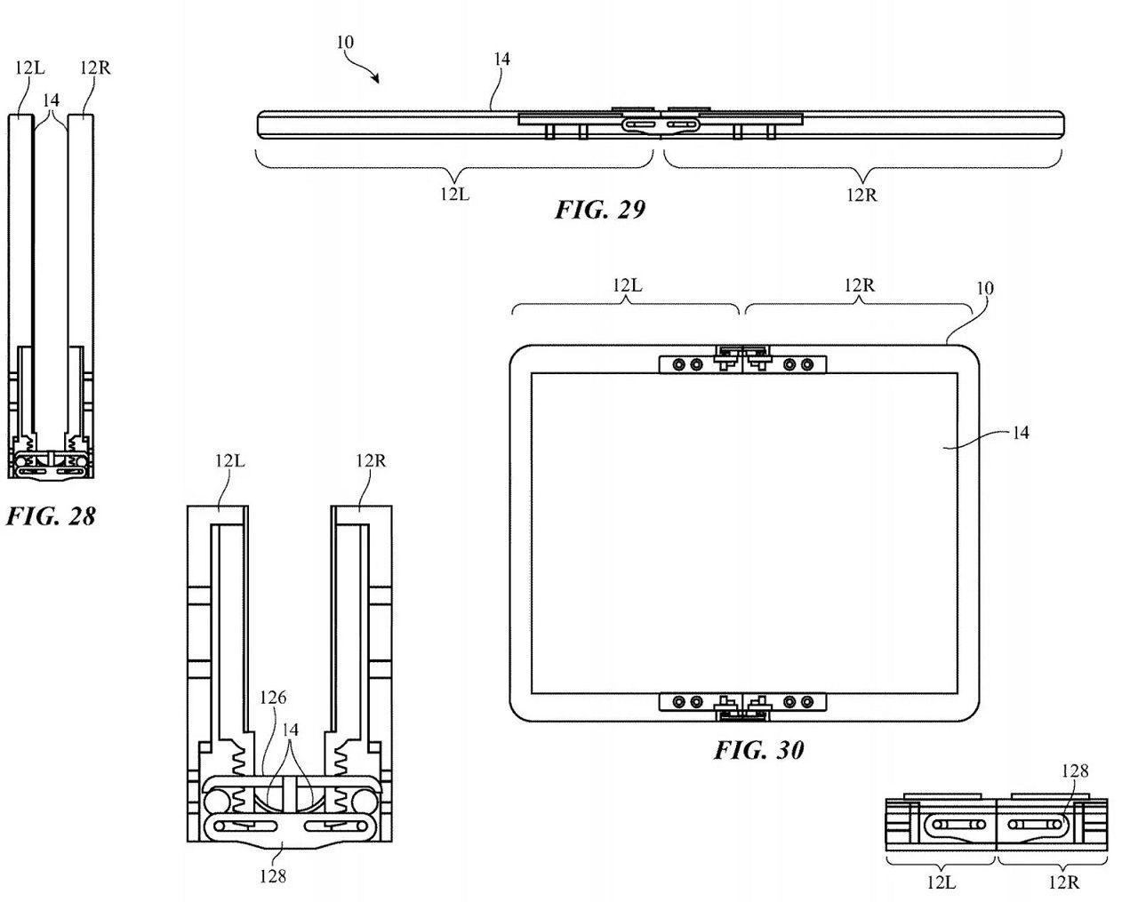 Apple brevet iphone pliable