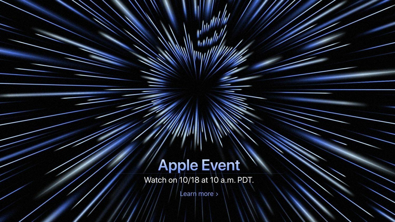 Apple Event 18 octobre