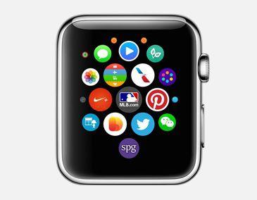 Apple Watch accueil