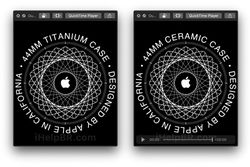 Apple Watch céramique titane