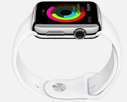 Apple Watch couronne digitale